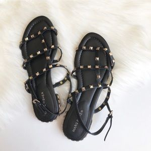 Marc Fisher studded strappy sandals